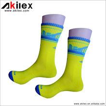 Custom men's sport basketball socks