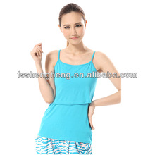 Sexy top nursing baby vest breastfeeding clothes summer wholesale cheap price BK056