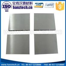 molybdenum sheet astm b386