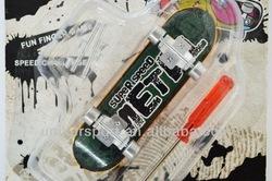 UK-fb07 Metal Finger Skateboards, Toy skateboards, mini finger skateboards