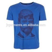 promotion 100% cotton t shirts custom solid screen silk printed tshirt cheap seamless mens t shirt