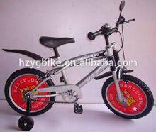 Hangzhou 20'' silver sport children bicycle/bmx bikes freestyle bike wholesale