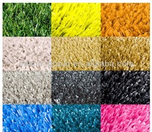 Corlorful artificial grass for running track