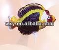 Venta caliente juguete de los niños/auto globo inflable/forma de pescado