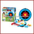 crianças arco e flecha e alvo de eco plástico brinquedos jogo de esporte