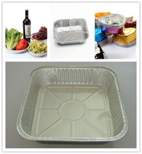 airline disposable aluminum foil tray