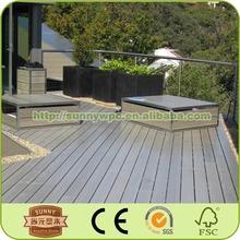 outdoor waterproofing wpc decking veranda