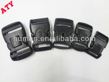 high quality plastic double safety buckle with lock for bag