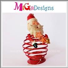 Foil Decor Gift Santa Design Christmas Decoration Hanging Orangement