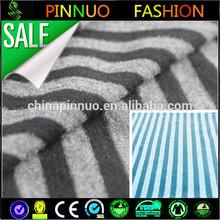 black white stripe cotton wholesale cotton knit fabric
