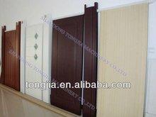PVC PE Wood Plastic Door Making Machine