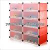 DIY storage rack,plastic storage cubes