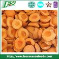 /iqf metades de damasco congelados/corta/fatias, chinês frutas congeladas 2014 nova safra