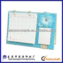 2014 desk paper calendars design and printing