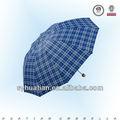 Alta qualidade 23 polegadas 3 dobrar guarda-chuva personalizado