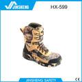 el más reciente de camuflaje del ejército botas y zapatos de seguridad
