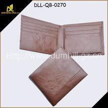 2014 fashion leather man wallet cheap price men purse manufacturer