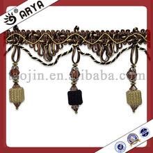 China lampshade bead fringe trims