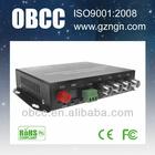 4CH Video Digital Optical Fiber Media Converter Transmitter Receiver