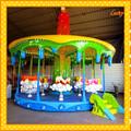 al aire libre parque infantil de atracciones equipo de dibujos animados para adultos carrusel de caballos para la venta
