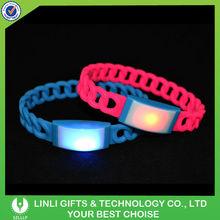 Twist Silicone LED Bracelet Flash