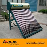home use low pressure vacuum tube calentador solar