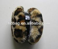 Fashion plush foldable winter ear warmer