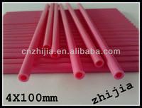 4X100MM colorful plastic lollipop sticks bulk for Candy
