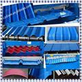 La mejor calidad 2014 nuevo diseño para el color de acero/ppgi/galvanizado/zinc/de chapa de aluminio del techo de la pared azulejo que forma la máquina que hace