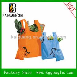 2014 Hot Selling Eco-friendly nylon Folding Shopping Bag