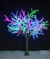 Künstliche rgb kirschbaum led-leuchten