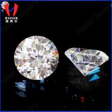1.7mm round diamond cut AAA zircon gems