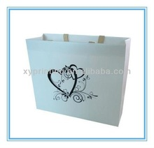 Company printed custom bags with matt lamination