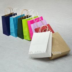 Paper bag & custom white craft paper bag wholesale