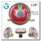 Mini gauge fire extinguisher pressure gauge