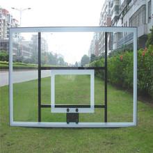 All Aluminum Frame Tempered Glass Basketball Backboard