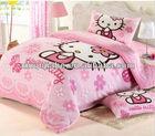fashionable hello Kitty bedding set for children