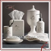 French Design Ceramic Bathroom Accessories