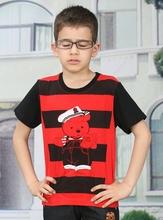 kids t-shirt printed,2015 boys t shirt,children yellow black striped polo t shirt