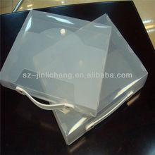 Portable custom office a4 size storage PP plastic document box
