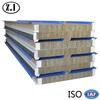 corrugated steel sheet rockwool sandwich panel