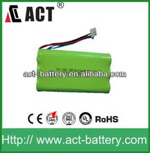 nimh 7.2v aa 1500mah battery pack