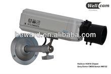 Surveillance software 1.3Megapixel Sony CMOS 720P HD Water-proof p2p bullet security ip camera