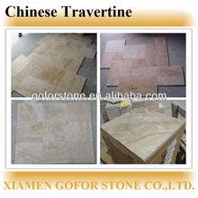 Chinese travertine, yellow travertine tile, cheap travertine slab price