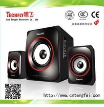 Hot Sale!!!Fashional Beautiful Design 2.1Wooden Speaker/Multimedia Stereo System wooden Speaker/Active Speaker2.1Ch for Computer
