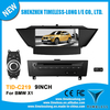 S100 Car DVD For BMW X1 with GPS A8 Chipset 3 zone POP 3G/wifi BT 20 dics playing