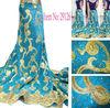 2014 leather velvet fabric african velvet lace fabric embroidered velvet fabric