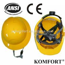 HDPE construction custom work CE &ANSI z87.1 safety helmet