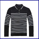 hot sale China wholesale clothing for fashion striped bulk mens polo shirts