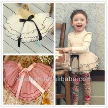 2014 spring latest korean brand style mesh girls skirts 13956k